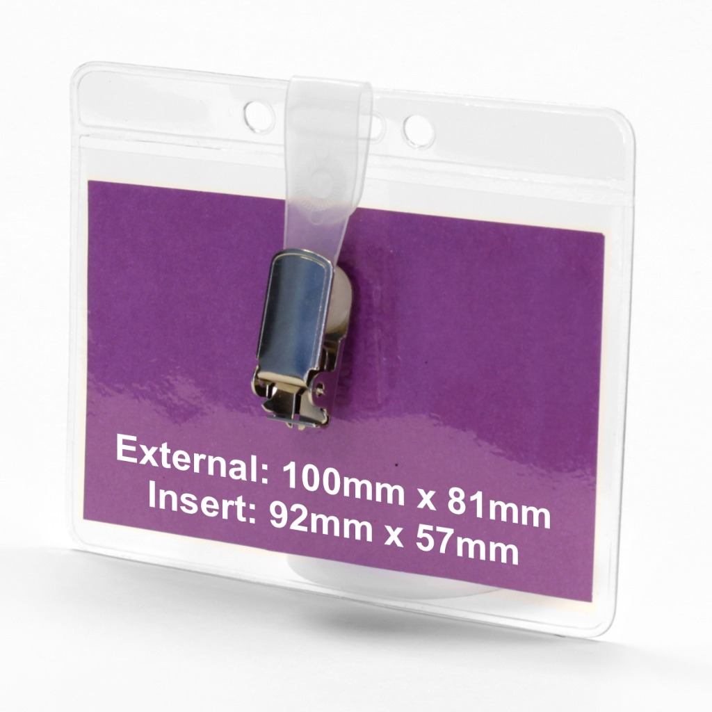 Product image 1 for Name Badge Pouch-1