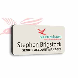 Product image 1 for Plastic Personalised Name Badge-3