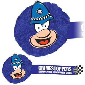 Police Officer Character MopHead