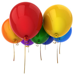 Product image 1 for Printed 12 inch Latex Balloons