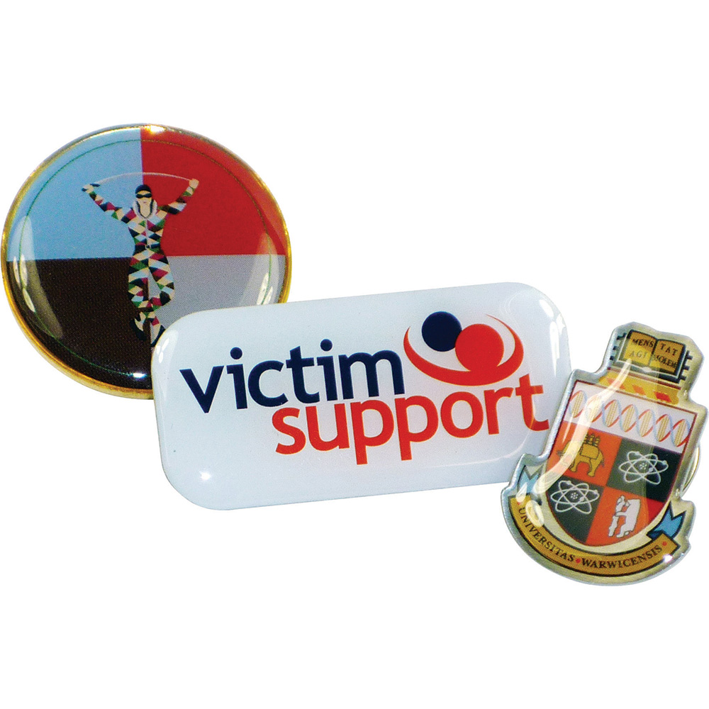 Product image 2 for 40mm Printed Lapel Badge