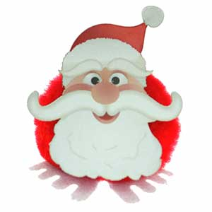 Product image 1 for Santa Snowball Logo Bug