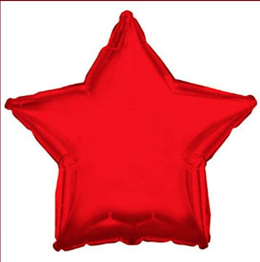 Product image 1 for Star Shaped Balloons