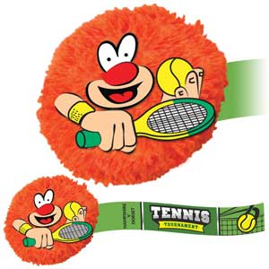 Tennis Character MopHead